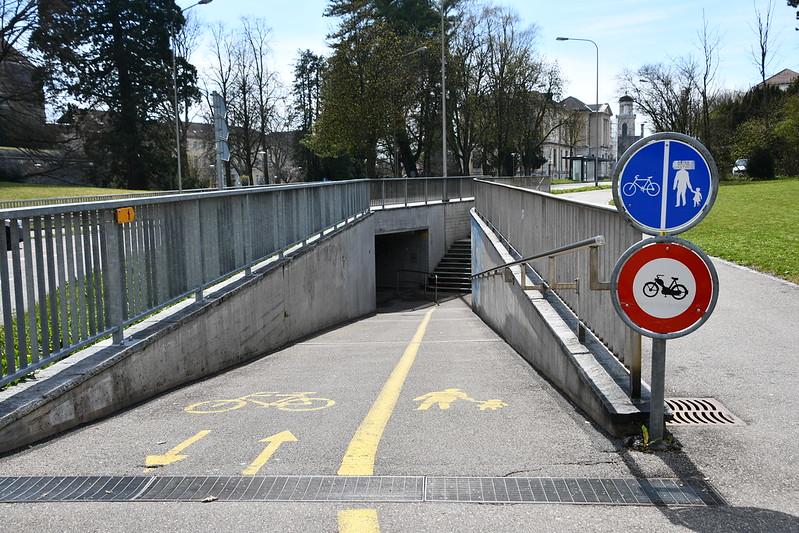 Tunnel Werkhofstrasse 06.04.2019