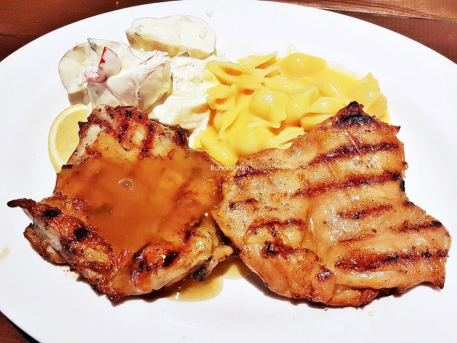 Double-Up Fiery Chicken & Lemon Lime Chicken With Potato Salad & Mac And Cheese
