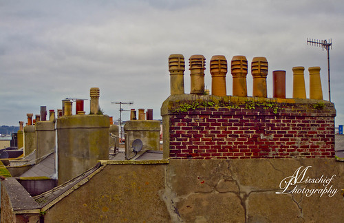 119picturesin2019 sthelier jersey chimneys