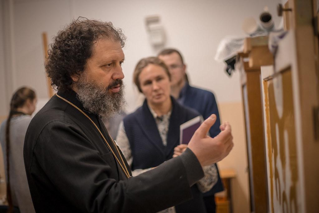 27 декабря 2018, Смотр работ на иконописном отделении / 27 December 2018, Review of the Iconographic Faculty works