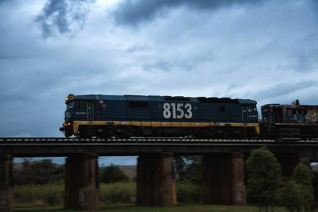 8153 at Menangle