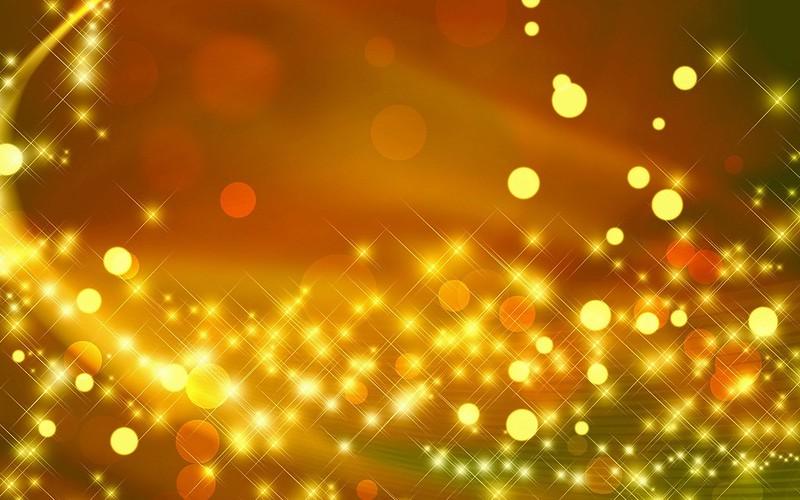 Обои блики, золото, блеск, яркий, круги картинки на рабочий стол, фото скачать бесплатно