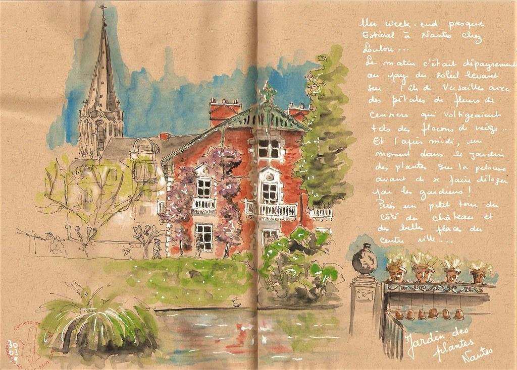 Nantes jardin des plantes | Avant de me faire déloger des pe… | Flickr