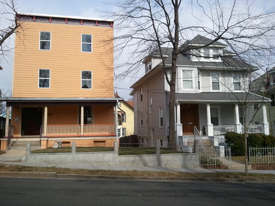 Pop up Italianate rowhouse in Upper Northwest DC, 1319 Delafield Place NW