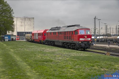 232 209 . DB Cargo . Aachen West . 05.04.19.