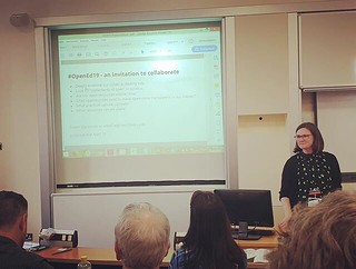 I presented at #oer19 today! 💃 | by 46137