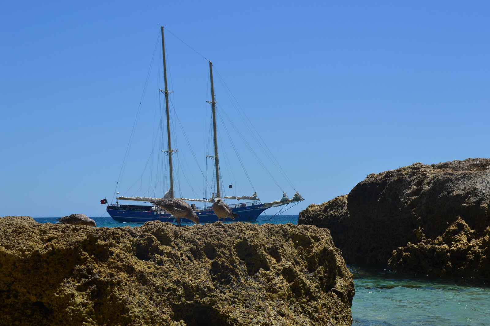 Condor de Vilamoura View from the beach Rocks