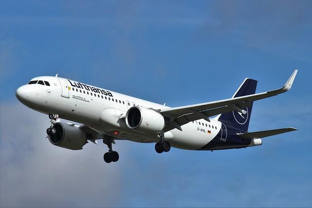Lufthansa Airbus A320neo D-AINL