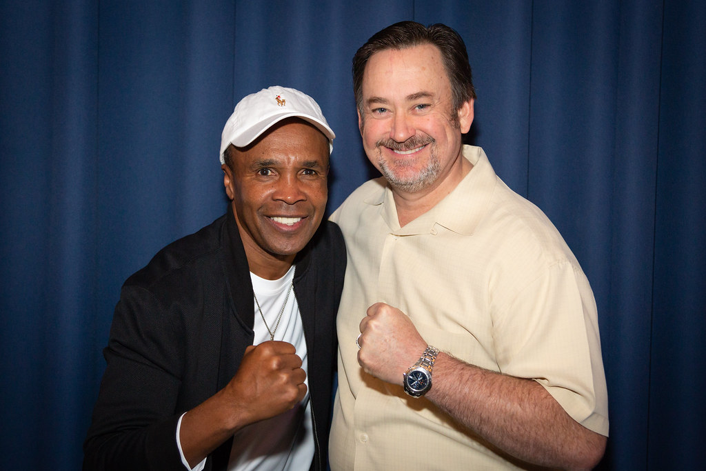 Fort Collins, CO | Greg Anderson and Sugar Ray Leonard