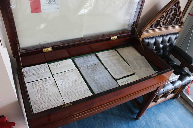 RCB Library D150 exhibition - large case.