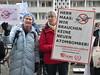 Protestaktion Auswärtiges Amt, Atombomber - Nein, Danke!