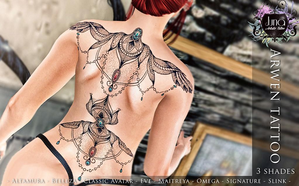 Arwen tattoo