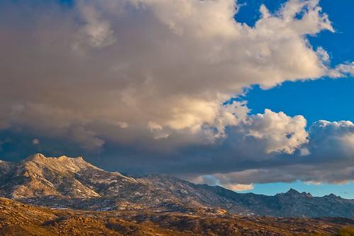 mountains arizona mtlemmon desert clouds snow