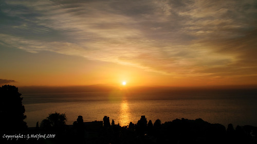 italy sicily sunrise sky clouds ocean sea water seascape nikon d5300 med skyline