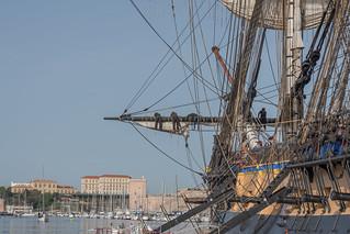 Gabiers Hermione Vieux Port de Marseille | by Bernard Ddd