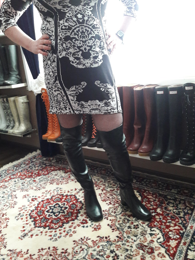 ce05804a858 ... New over the knee rain boots