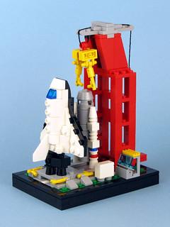 Mini 6339 Shuttle Launch Pad | by tybort