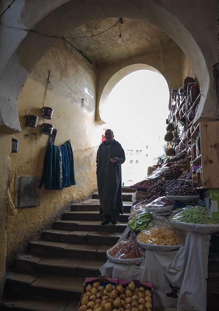 Morocco - Fés vendor 2
