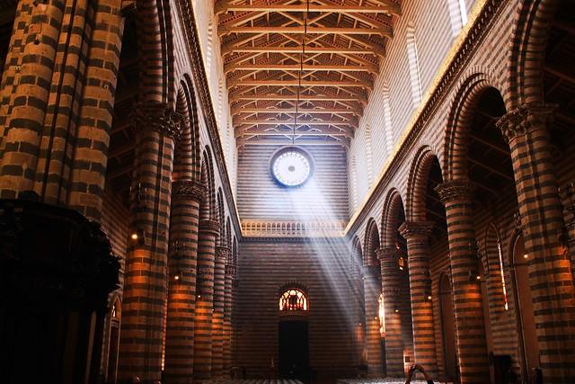 Duomo di Orvieto - Un raggio di sole