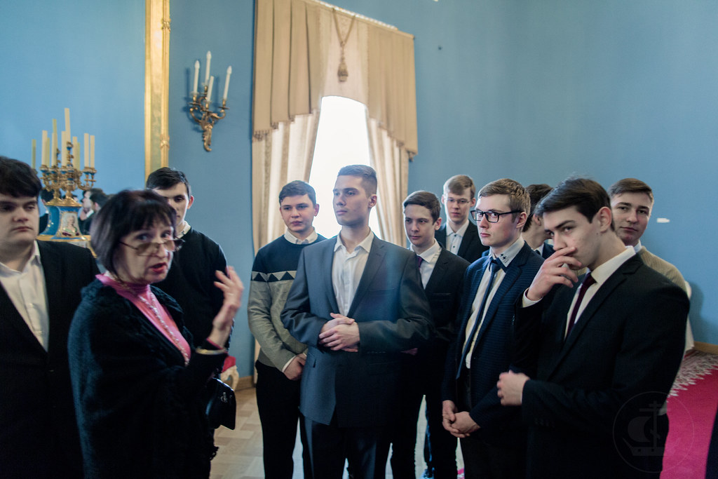 15 Марта 2018, Экскурсия во дворце Юсуповых / 15 March 2018, Excursion to the Yusupov Palace