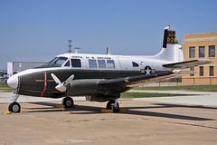 62-3838, Beech U-8F, Kansas Aviation Museum, 21/04/2013
