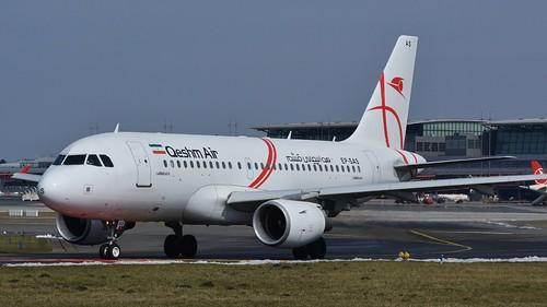Qeshm Air Airbus A319 @ HAM | by timur.tatlici