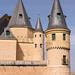 Alcázar, Segovia: Philip II spires