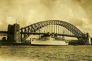 Stathnaver, Sydney Harbour Bridge
