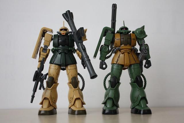 [HGGTO] MS-06C/MS-06CK ZAKU II(real cobat color)