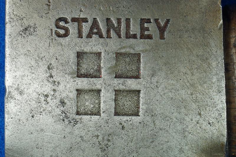 RD17883 Vintage Stanley 4 Square Hatchet Axe Sweetheart Logo DSC05145