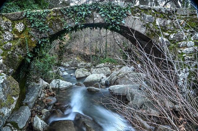 Puente de los Molinos (Piornal, Caceres)