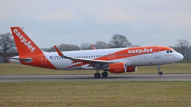 G-EZRG Airbus A320-214SL Easyjet