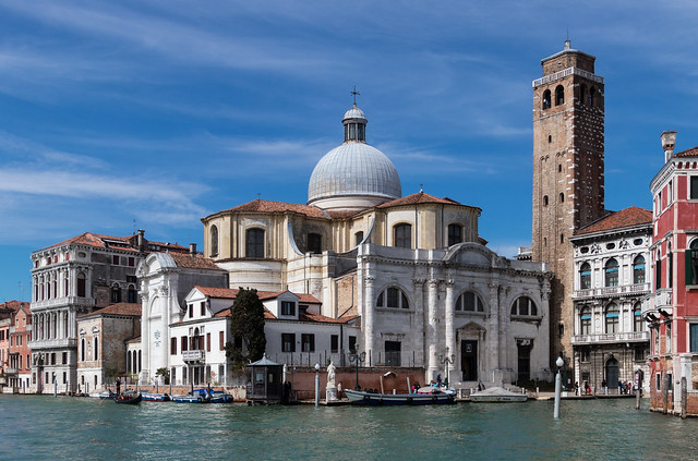 Happy Sunday ! / Church San Geremia seen from the Canal Grande, Venice, Italy