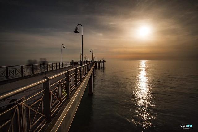 Marina di Pietrasanta sunset