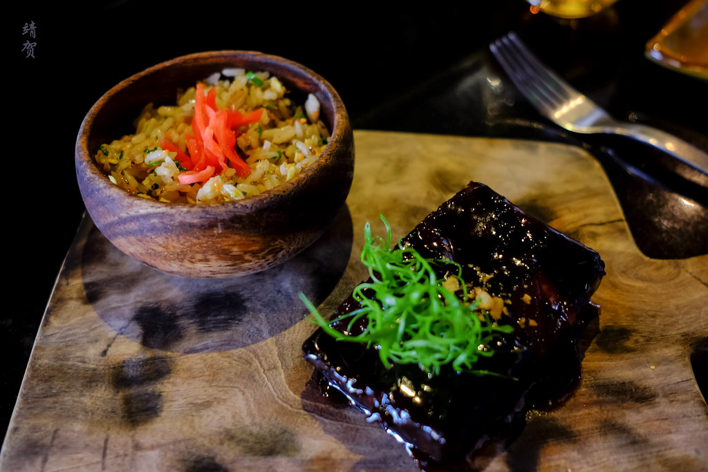 Braised short rib with fried rice