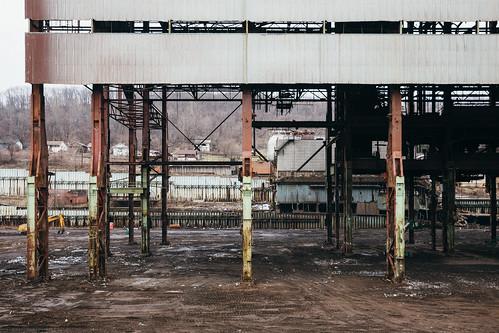 weirton westvirginia unitedstatesofamerica us steelmill rustbelt vsco