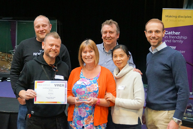 YMCA Norfolk Staff Awards April 19