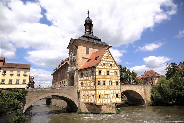 Bamberg altes Rathaus 28.06.15