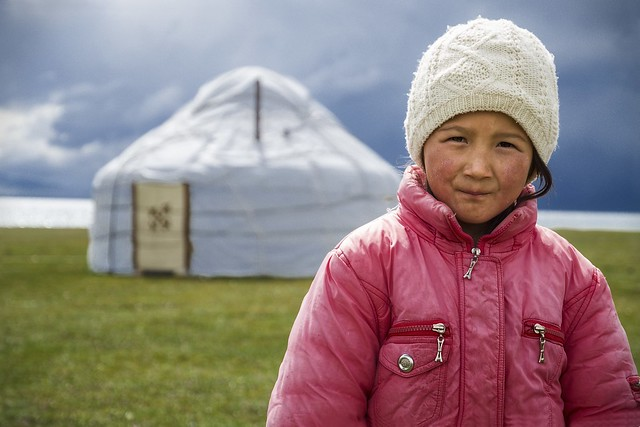 Kyrguiz girl