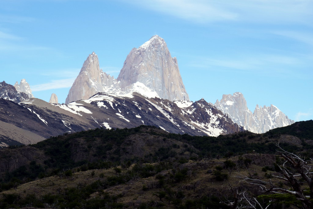 Fitz Roy in the Sun