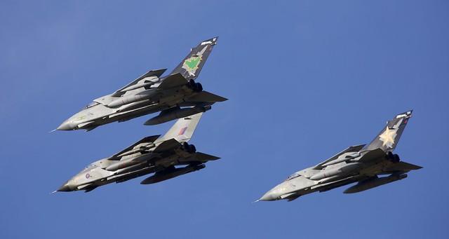 Tornado GR.4 Trio Flypast RAF Lossiemouth