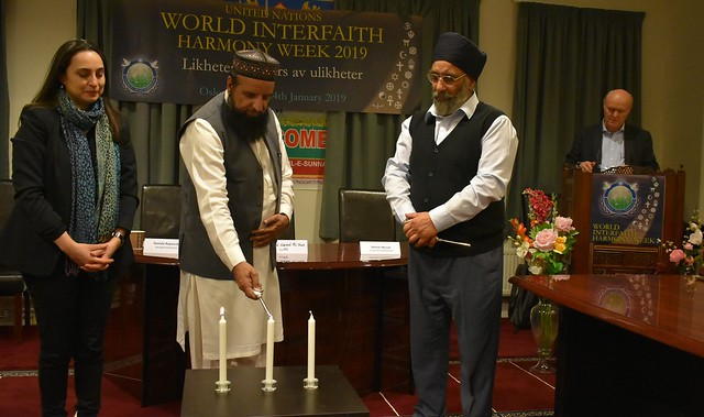 Norway-2019-01-24-World Interfaith Harmony Week Observed in Norway