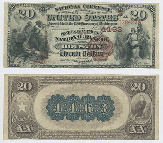 United States $20.00 (twenty dollars) national currency   by SMU Libraries Digital Collections