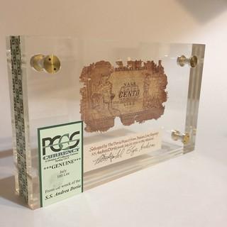 Andrea Doria shipwreck note - PCGS Currency 100 lire | by Numismatic Bibliomania Society