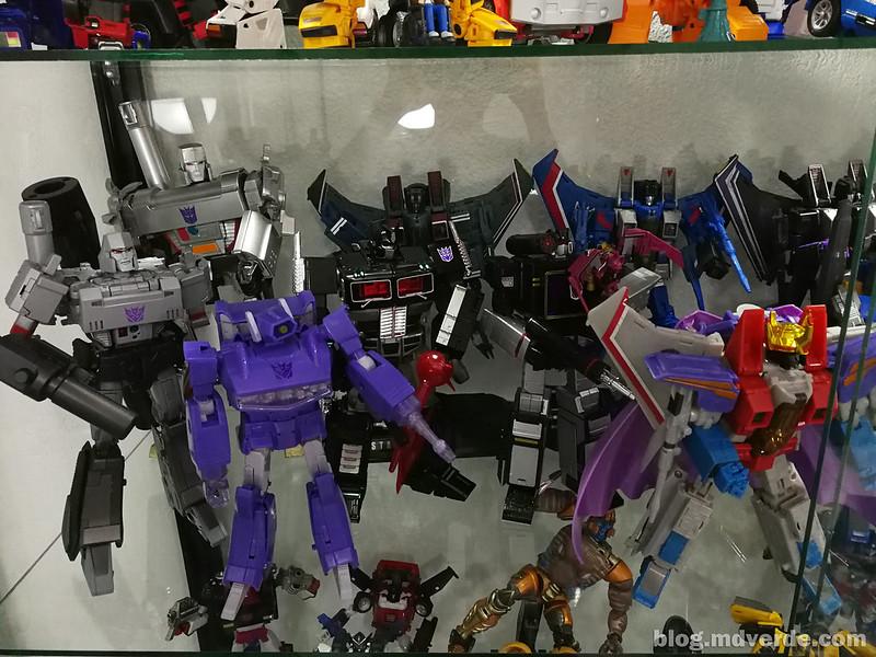 Mi colección de Transformers Masterpiece Decepticons G1 1/2
