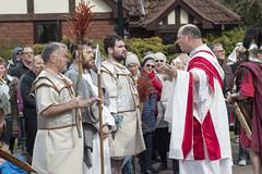 Pontius Pilate deliberates.