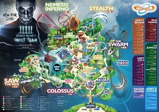 Thorpe Park 2016 Park Map | by ThemeParkMedia