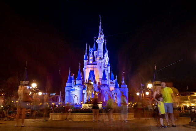 Magic Kingdom - Castle at Night