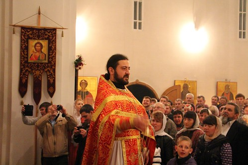Пасхальное Богослужение в Свято-Никольском храме станицы Кавказской IMG_1341