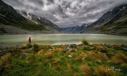 mtcook newzealand lake glacierwater glacierlake d850 stormyclouds clouds southisland aoraki